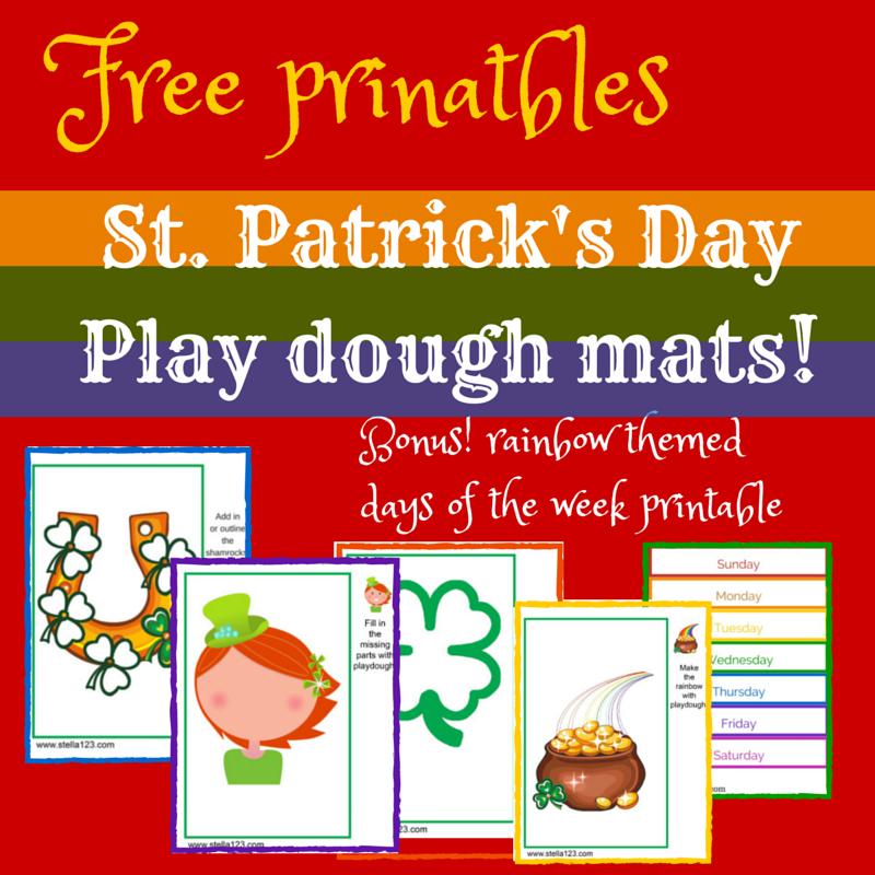 st-patricks-day-playdough