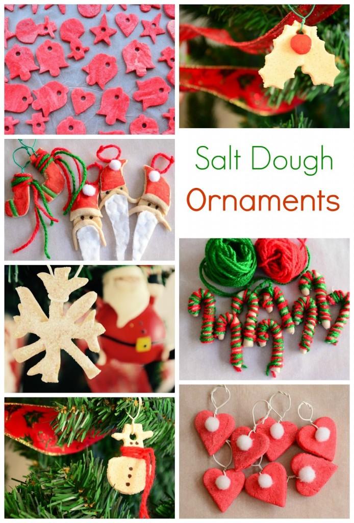 01 Salt Dough Christmas Ornaments