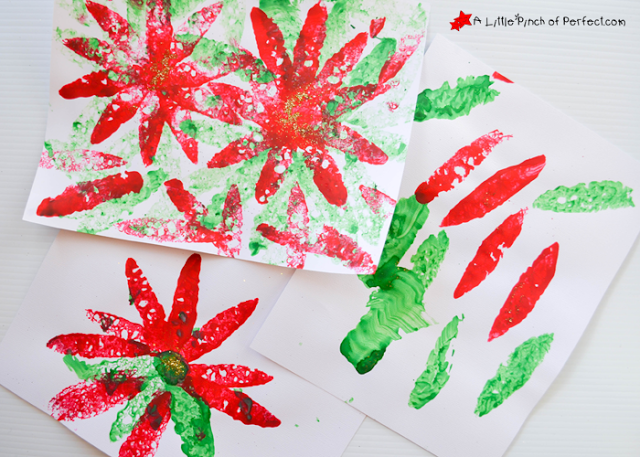 2015-11_Poinsettia Sponge Painting_A Little Pinch of Perfect 3 copy