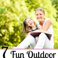 7 Fun Outdoor Homeschool Activities