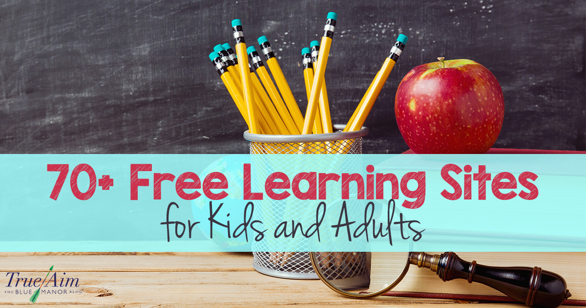 70+ Free Learning Sites for Kids and Adults FB