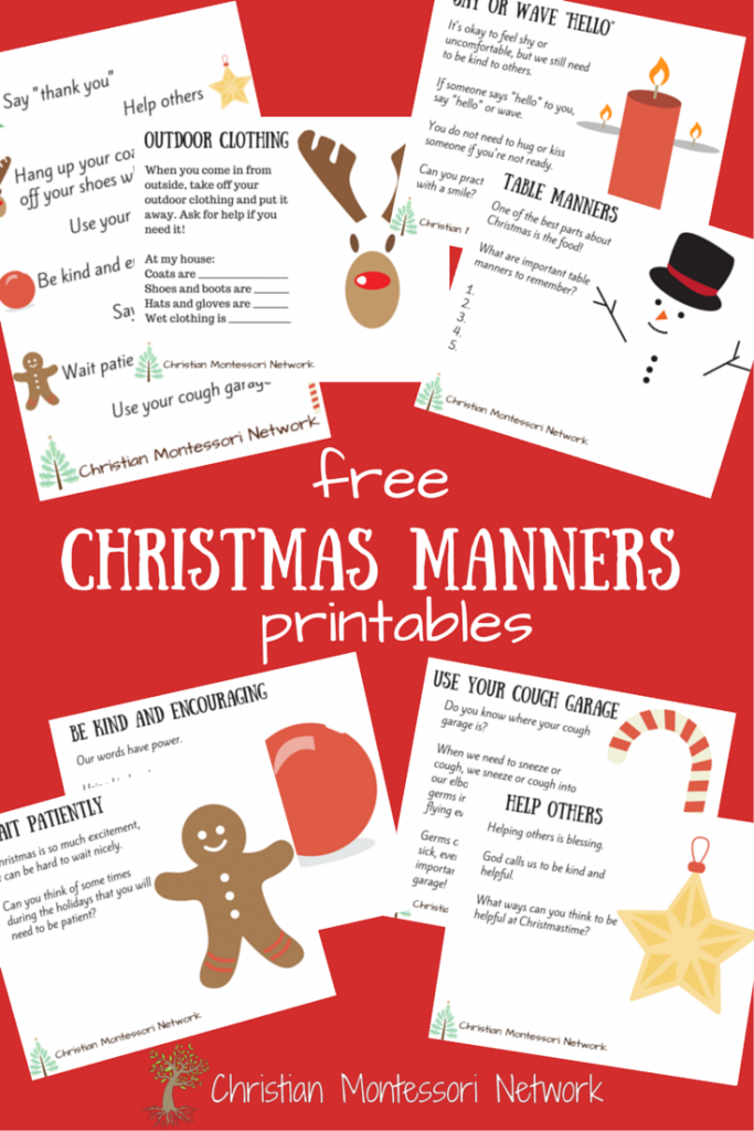 Christmas-Manners