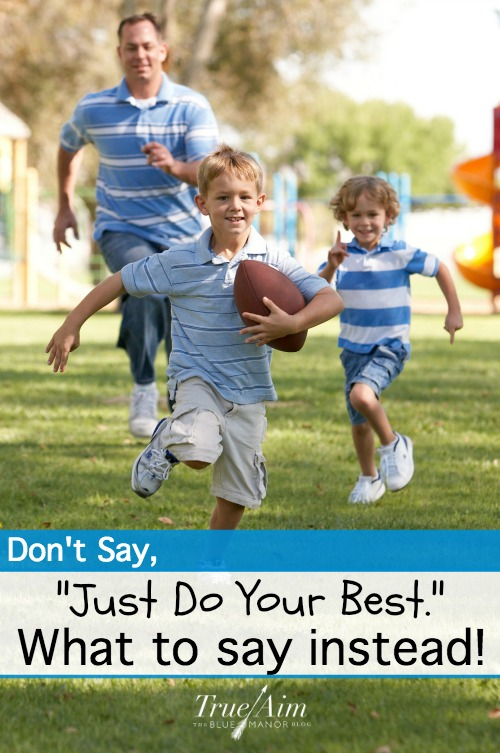 How to encourage your kids when doing their best isn't enough