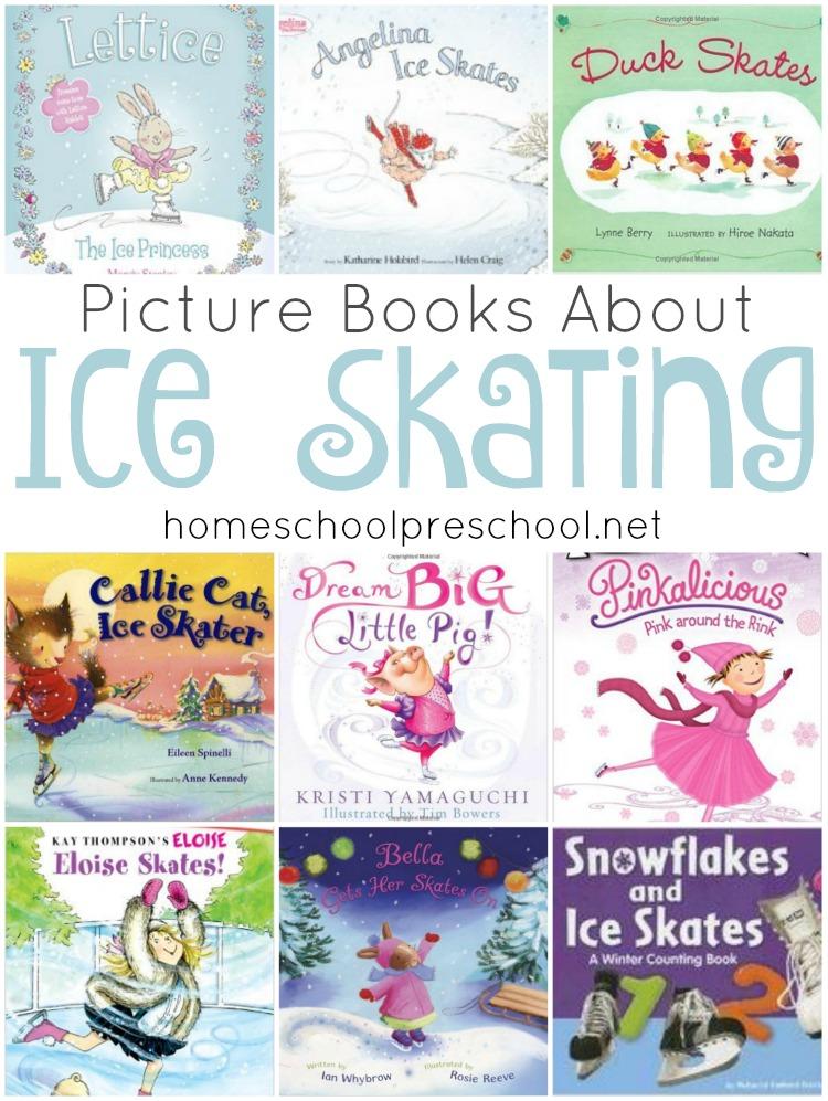 Ice-Skating-Books-Pin