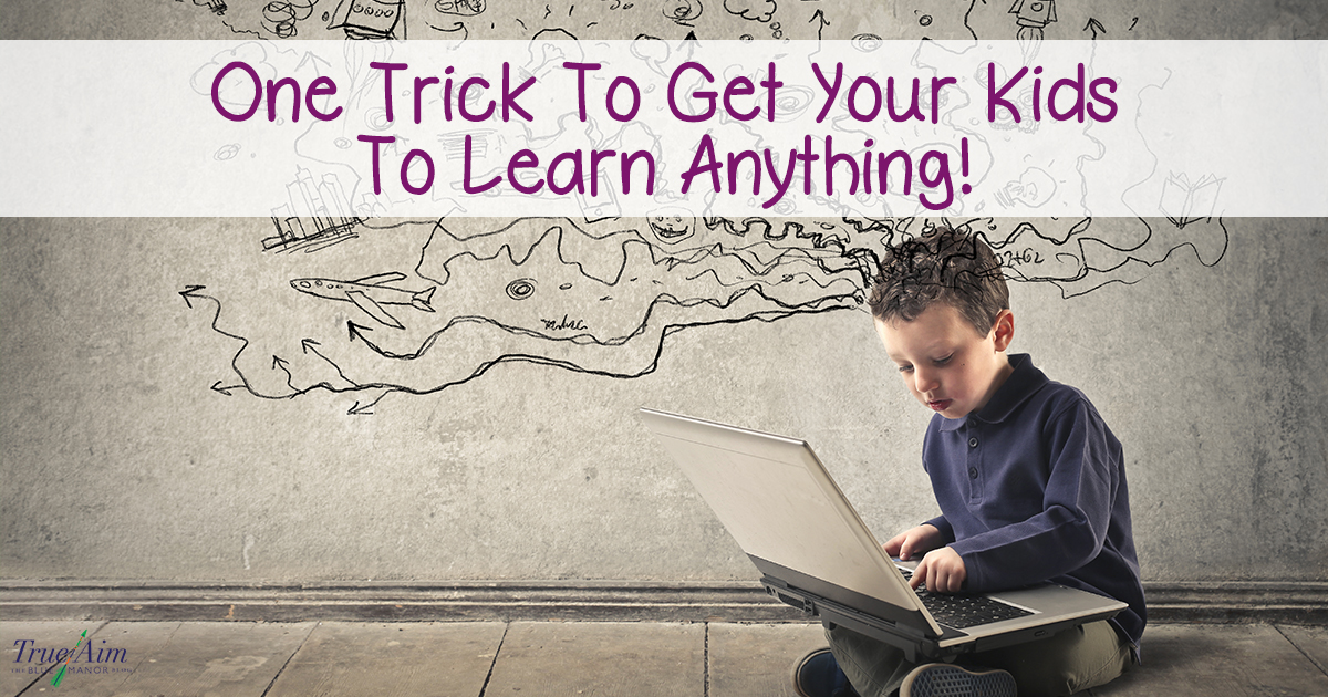 One trick to get your kids to learn anything FB