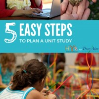 5 Easy Steps to Plan a Unit Study