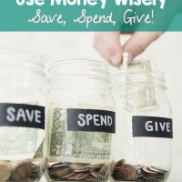 Save, Spend, Give! Plus FREE Printable for Kids
