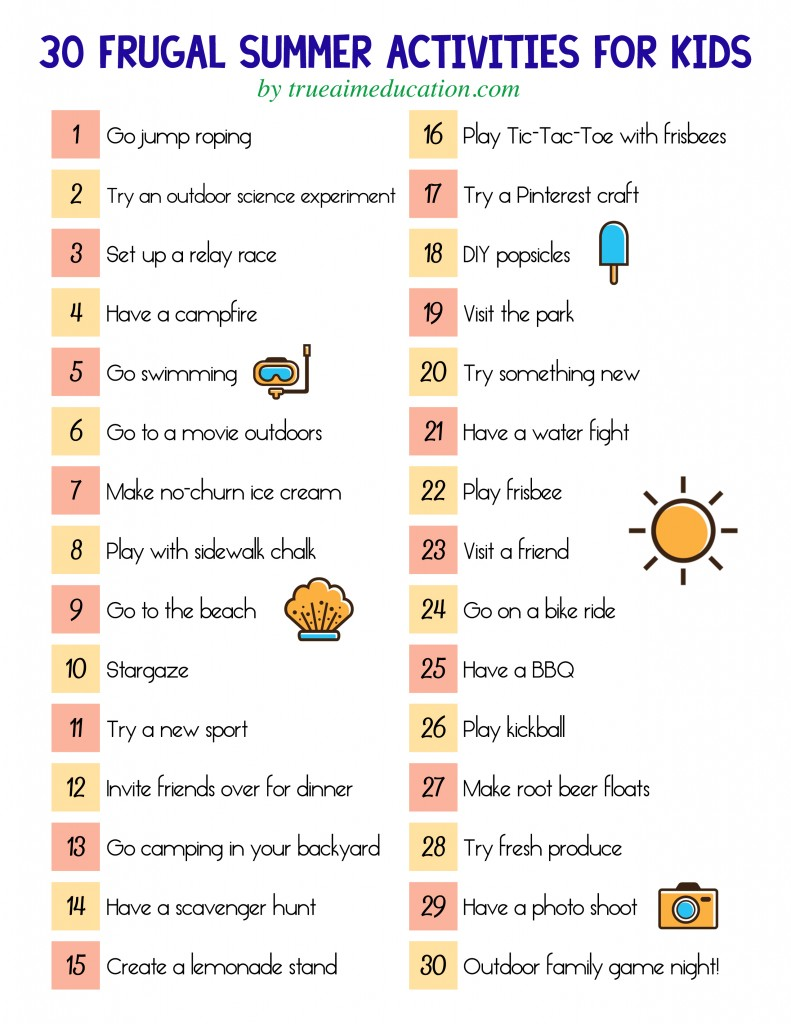 Fun Summer Ideas for Kids and Parents