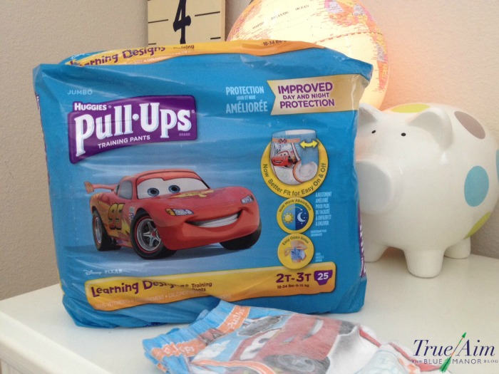 Potty training with pullups