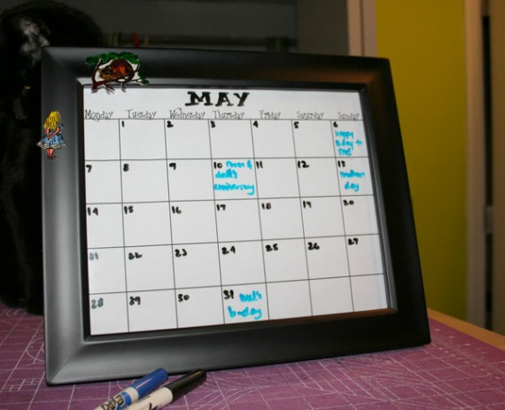 Free Monthly Blank Calendar Printable - Any Year | True Aim