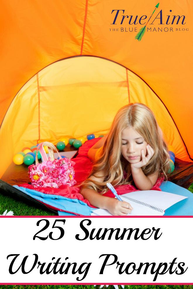 summer writing, summer, writing, writing prompts for summer. writing prompts, homeschool, homeschooling, printable
