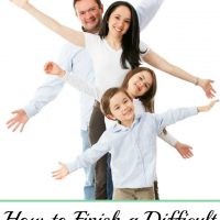 How to Finish a Difficult Homeschool Year Well