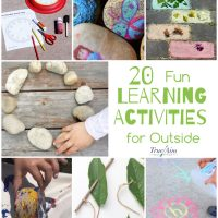 20 Fun Learning Activities for Outside