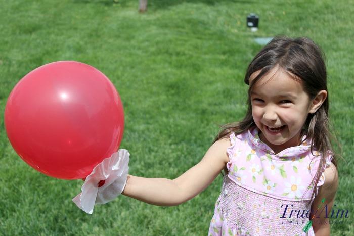 balloon hovercraft outdoor STEM challenge