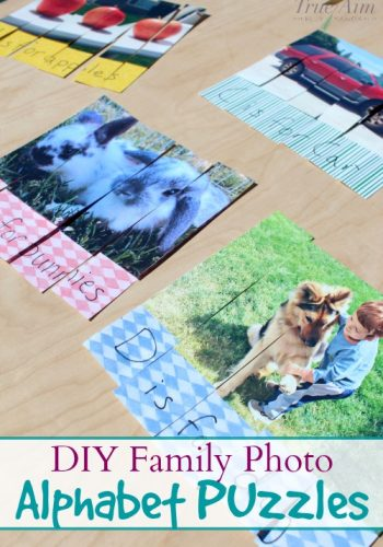 diy family photo puzzles