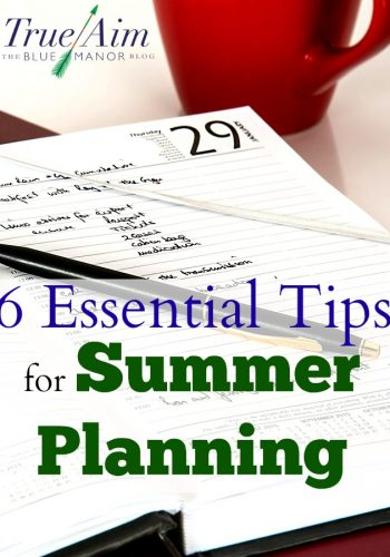 6 Essential Tips for Summer Planning