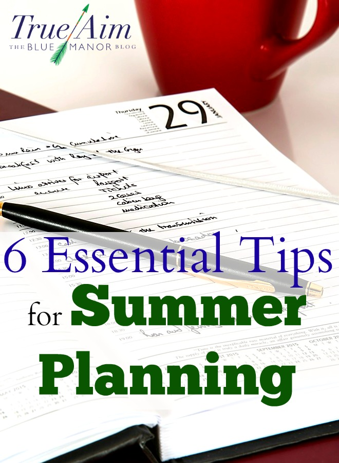 A well-run school year begins wit these essential tips for summer planning.