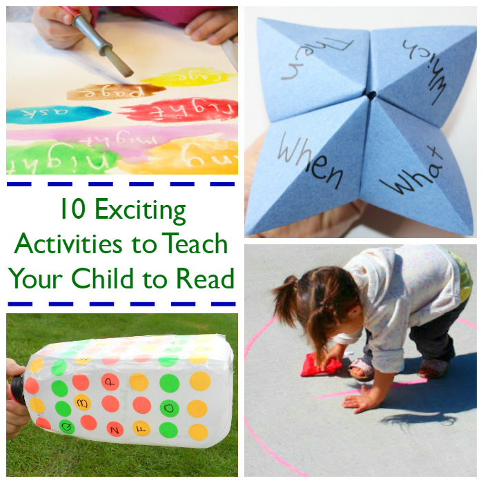 teach your child to read activities