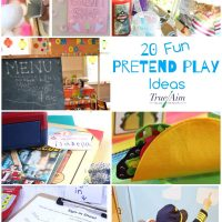 20+ Fun Pretend Play Ideas
