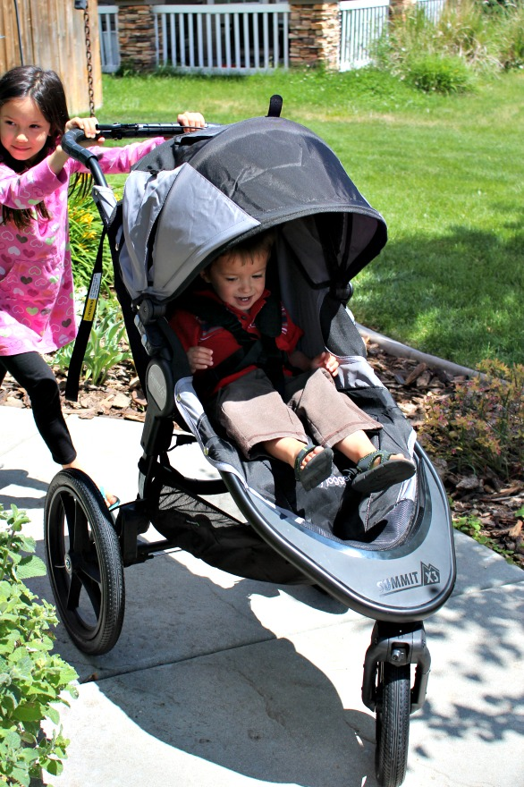 Jogging with kids - tips and tricks