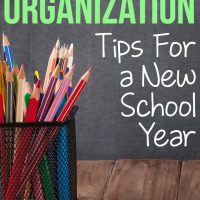 8 Homeschool Organization Tips For a New School Year