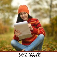 25 Fall Writing Prompts for Kids