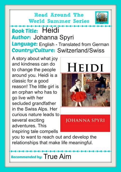 Read around the world summer recommendation