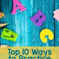 Top 10 Ways to Practice Spelling Words