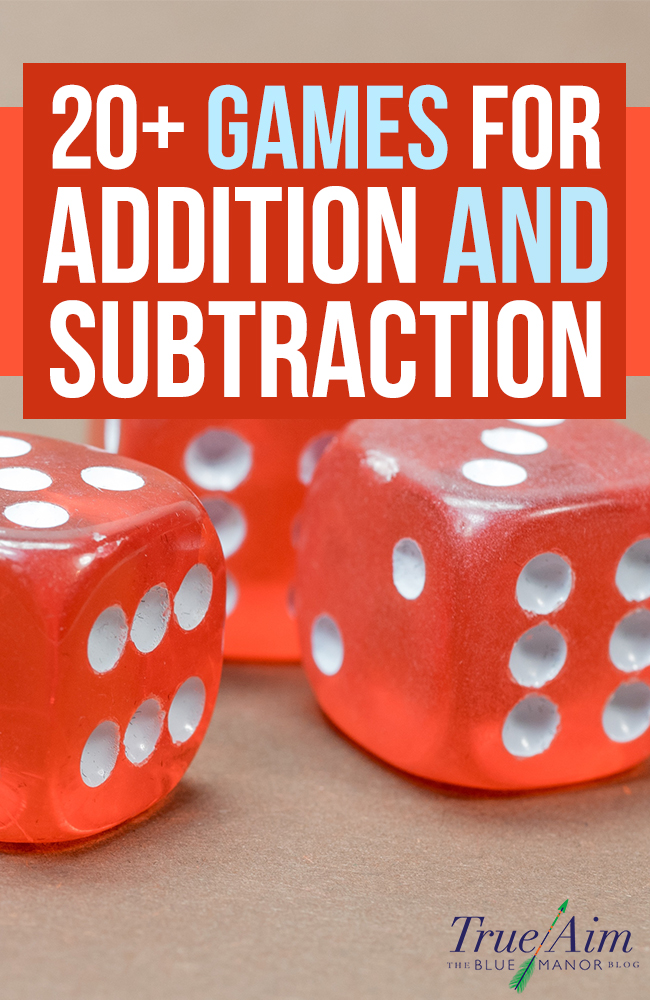 picture about Addition and Subtraction Games Printable called Math Game titles: 20+ Addition and Subtraction Online games for Basic