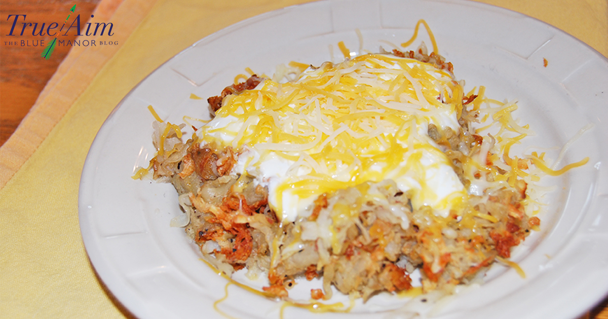 Easy hash browns with less oil and more taste!