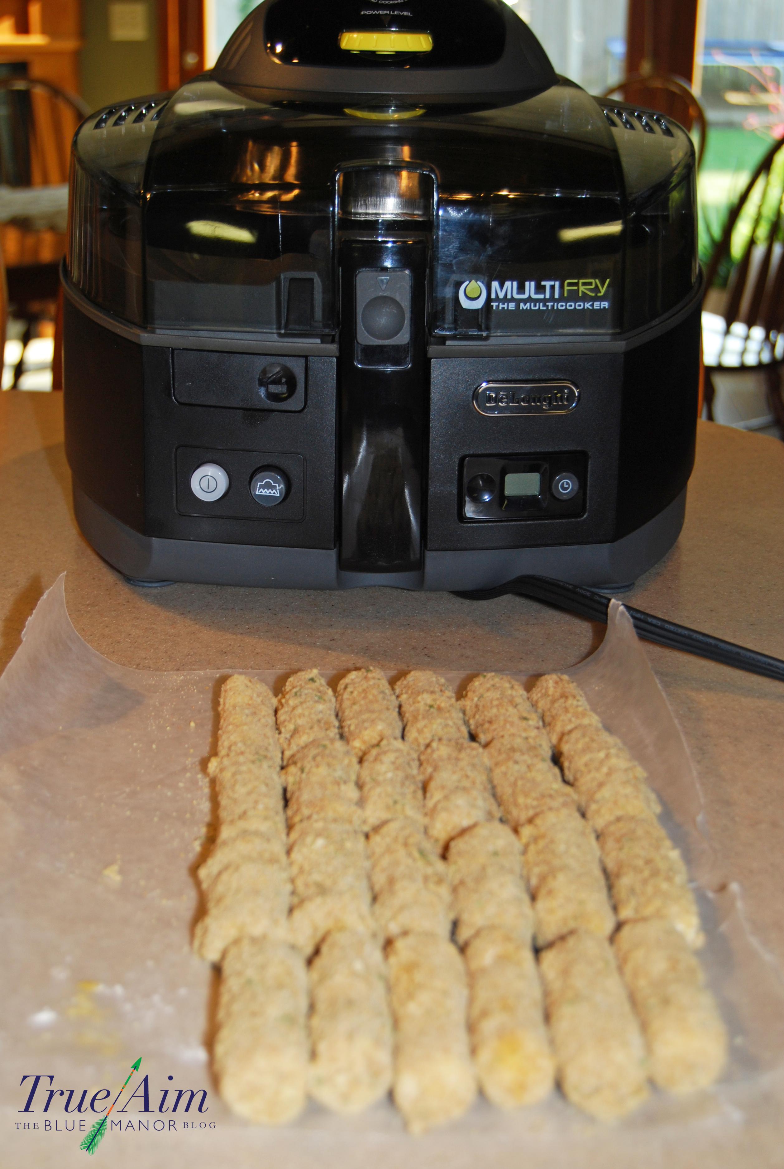 Easy Mozzarella Sticks with multifry