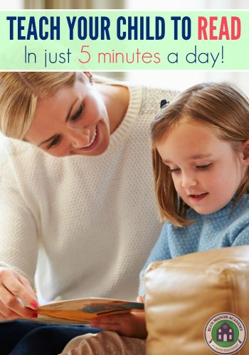Teach Your Child to Read Workshop and Sale!