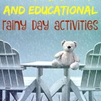 5 Entertaining Educational Rainy Day Activities