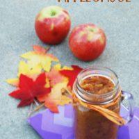 Easy Autumn Applesauce: Easy DIY Recipe for Fall