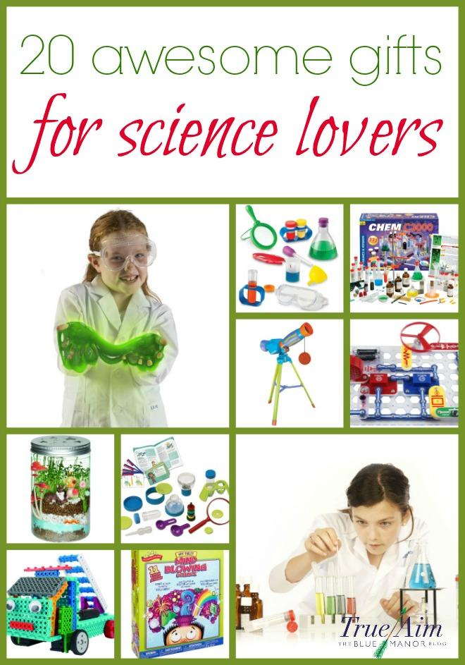 Kids are curious about the world and the world around them. What could be better than to ignite that curiosity into a passion with awesome science gifts for kids!