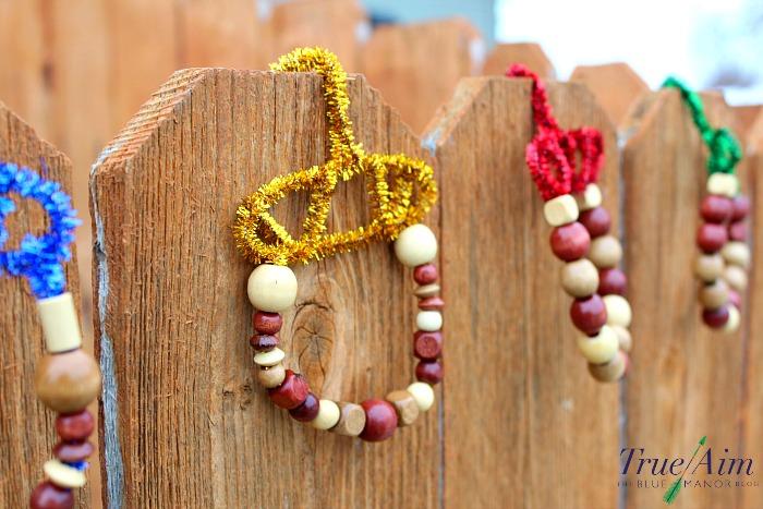 Handmade acorn ornaments kids can make