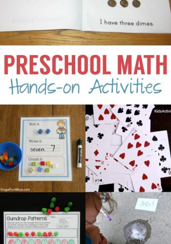 Preschool Math Hands-on Activities