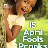 15 Easy and Fun April Fools Pranks For Kids