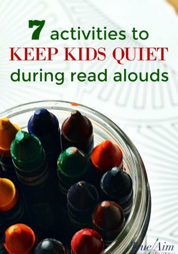 7 Activities to Keep Kids Quiet During Read Alouds