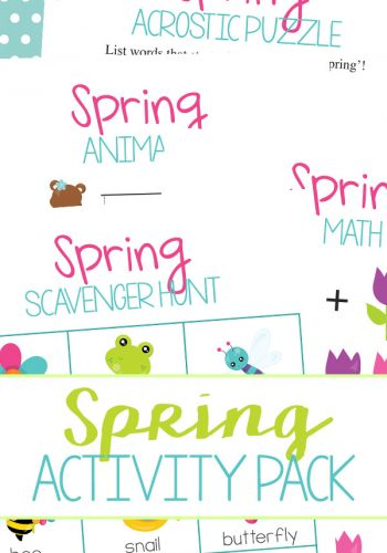 Free Spring Activities Pack
