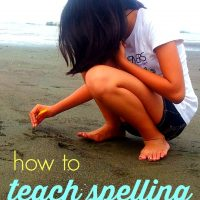 How to Teach Spelling Without a Spelling Curriculum