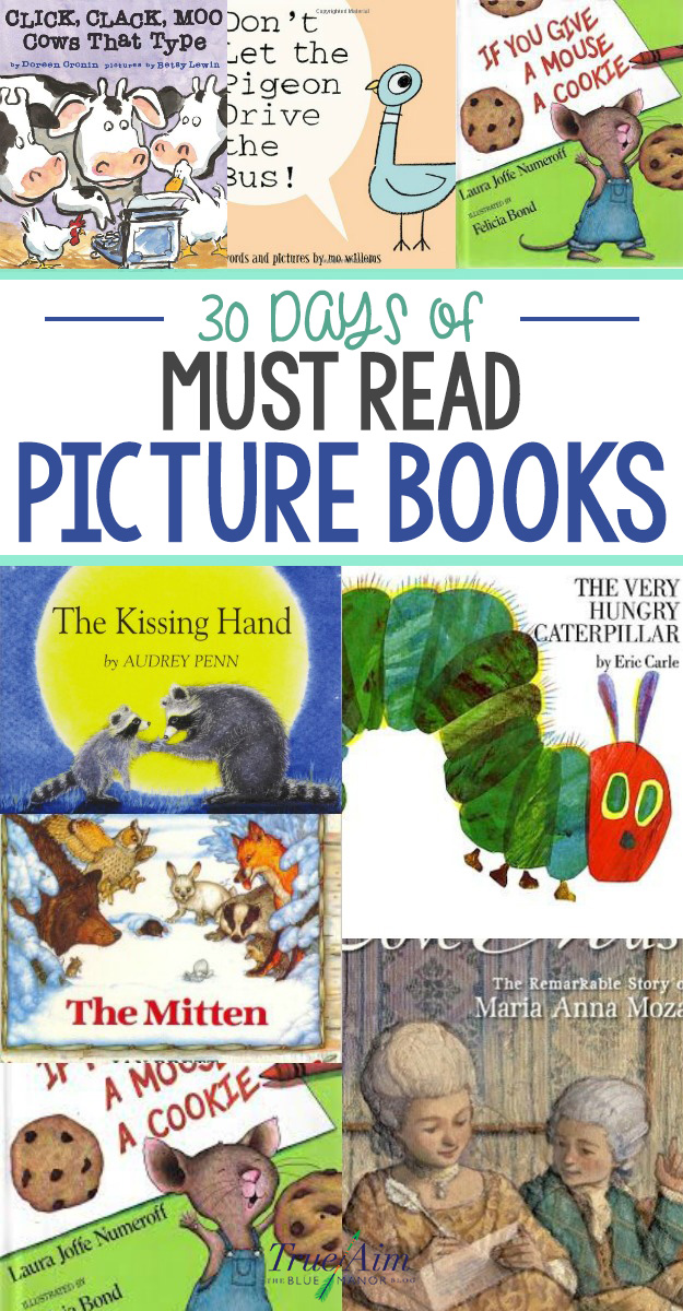 30 Days of Must-Read Picture Books for Preschoolers and ...