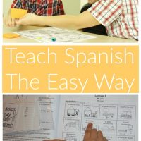 How to Homeschool Spanish the Easy Way