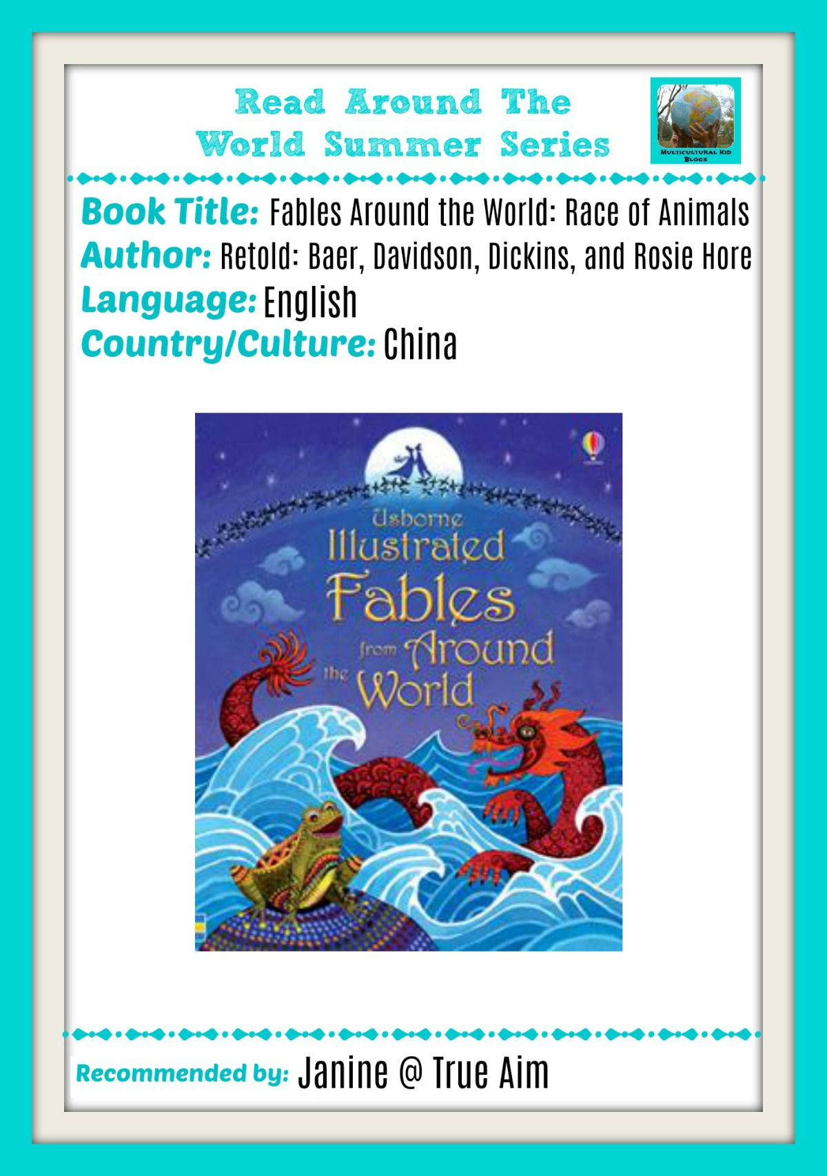 Chinese new year fable Read around the world