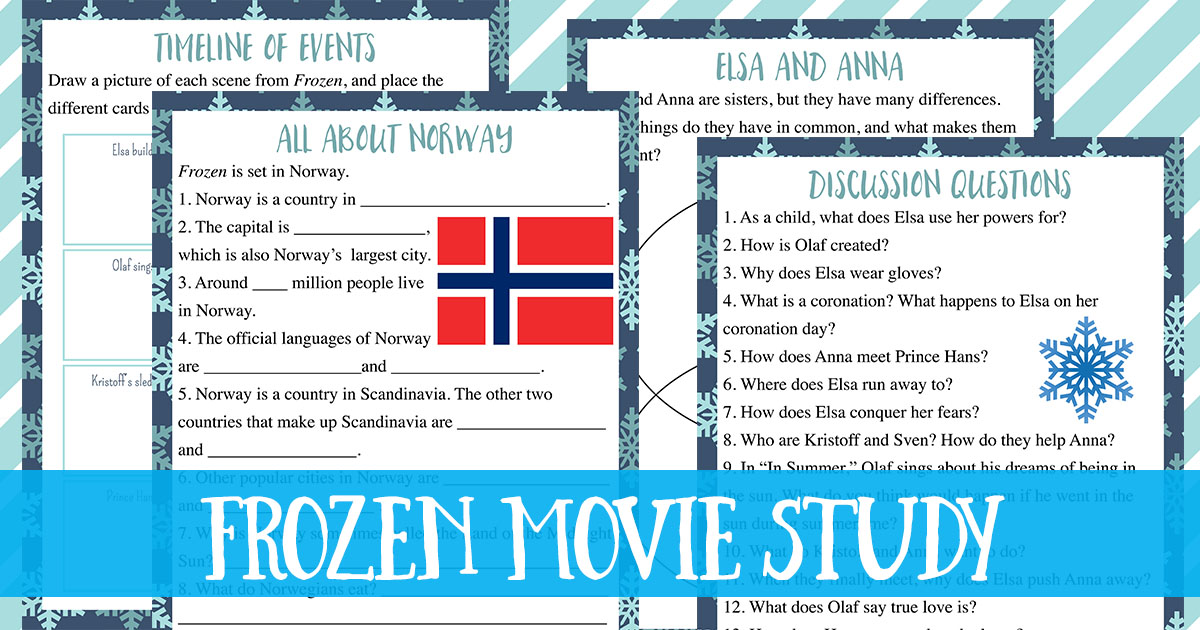 frozen movie study guide free printable worksheets rh trueaimeducation com Great Expectations Study Guide Questions Study Guide Format