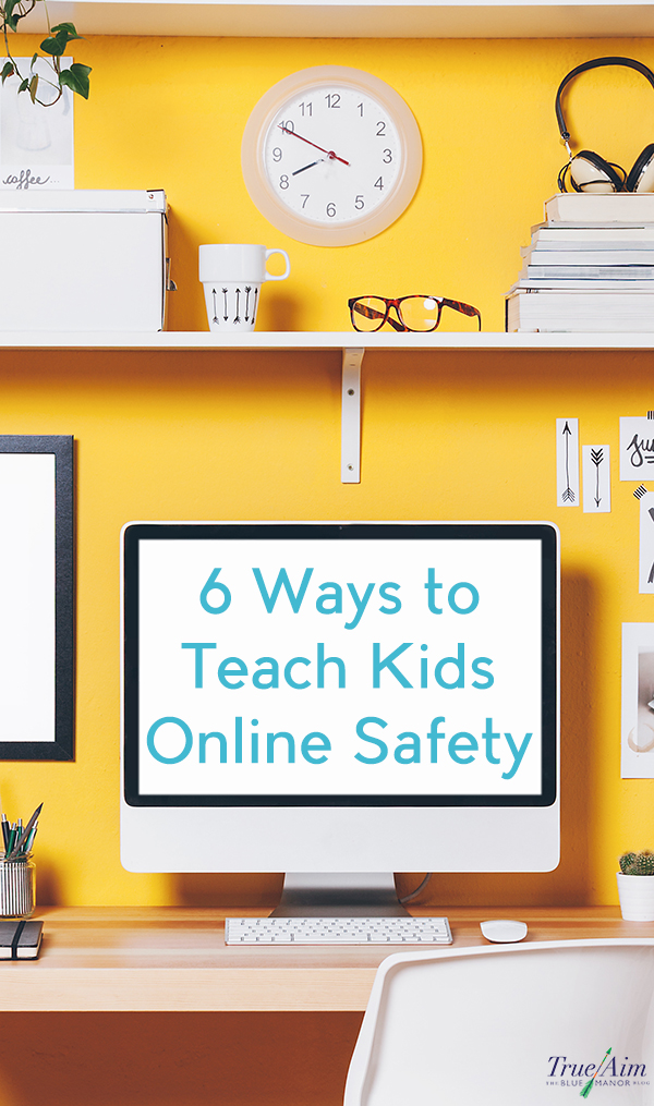 The Internet is a great source of information and entertainment, and it has taught me SO much in life! But, the internet isn't always kid-friendly. Here are some ways to teach kids online safety!