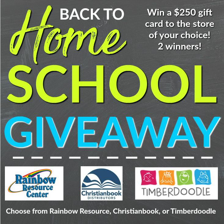 Back to Homeschool Giveaway 2