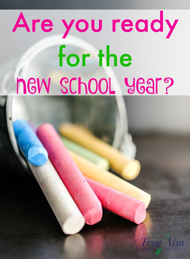The new school year is almost ready to begin! Are you ready for the new school year? Here are some homeschool tips!