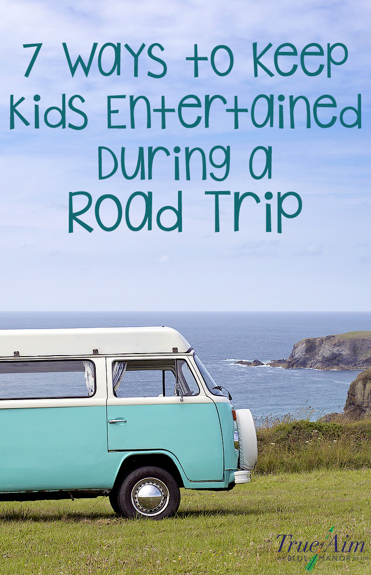 Road trips don't have to be frustrating and boring. Keep kids entertained and having fun on your next road trip with these 7 great ideas!