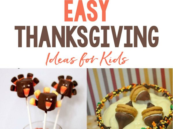 Easy Thanksgiving Food Ideas for Kids
